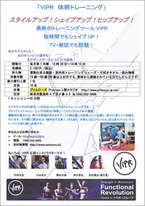 ViPR体幹トレーニング